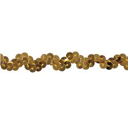 Team Spirit 1/2'' #46 Scallop Sequin Trim Gold
