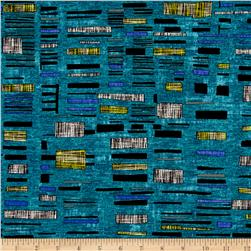Urban Oasis Urban Tapestry Teal/Blue