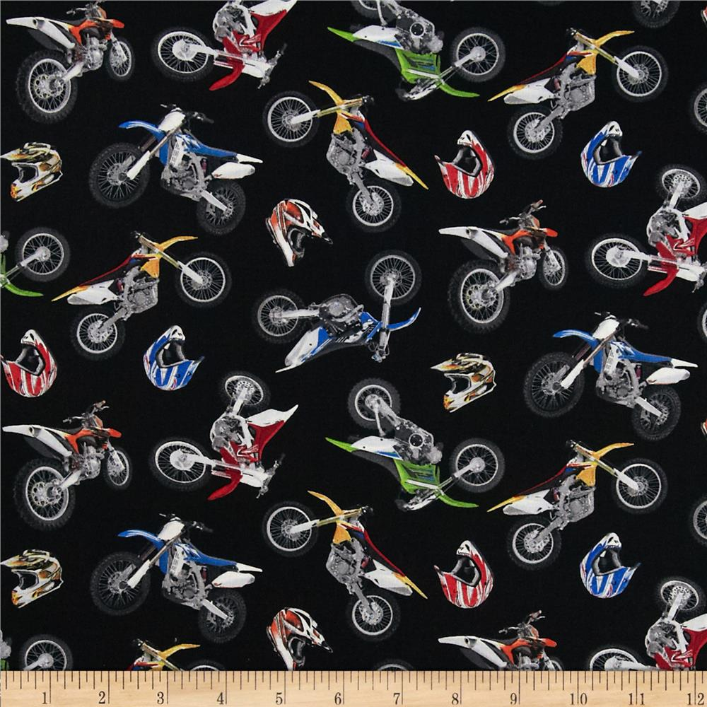 In Motion Motorcross Black