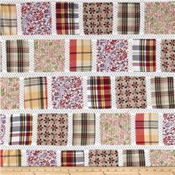 Vintage Cuts Patchwork Lawn Neutral