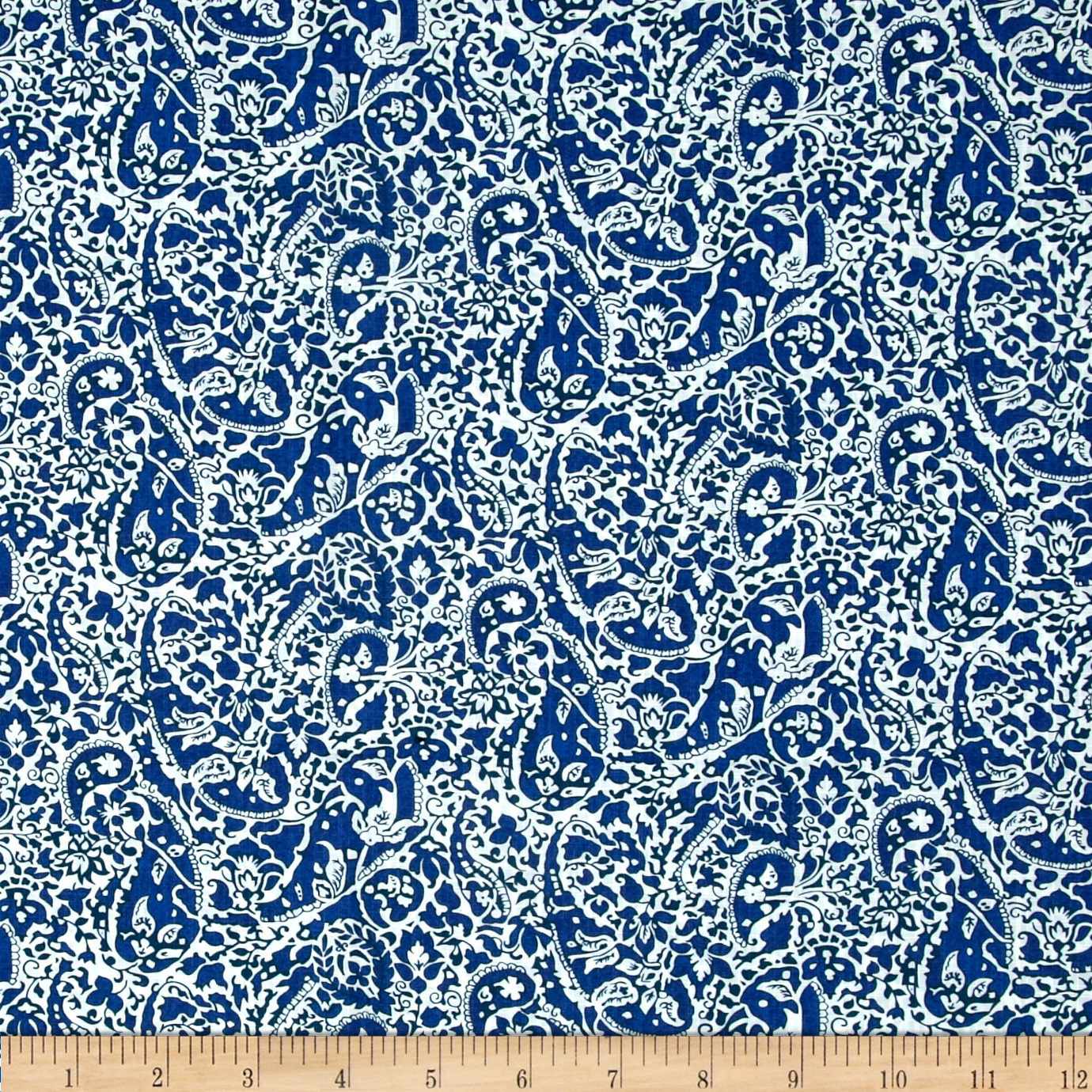 Liberty of London Tana Dobby Lagos Laurel Blue Fabric by Liberty Of London in USA
