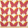 Jennifer Adams Home Chambord Butterfly Cerise