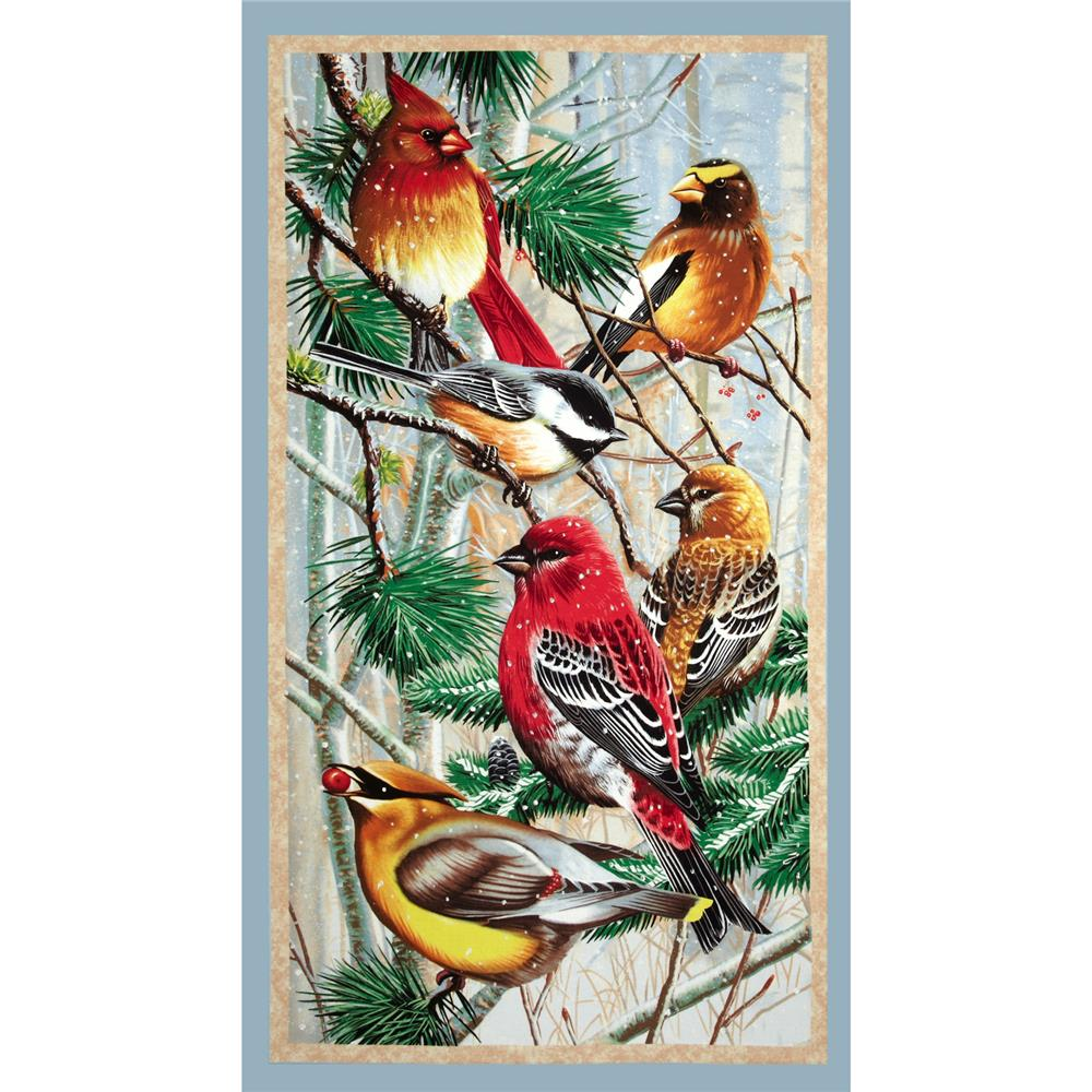 Winter Gathering Large Panel Multi