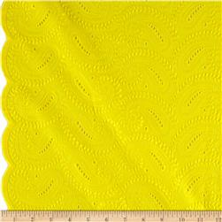 Maeve Eyelet Yellow