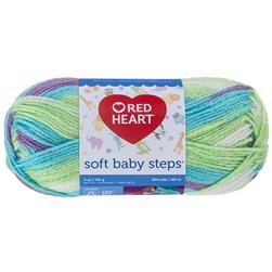 Red Heart Yarn Soft Baby Steps 9939 Tickle
