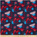 Marvel Ultimate Spider-Man Chevron Navy