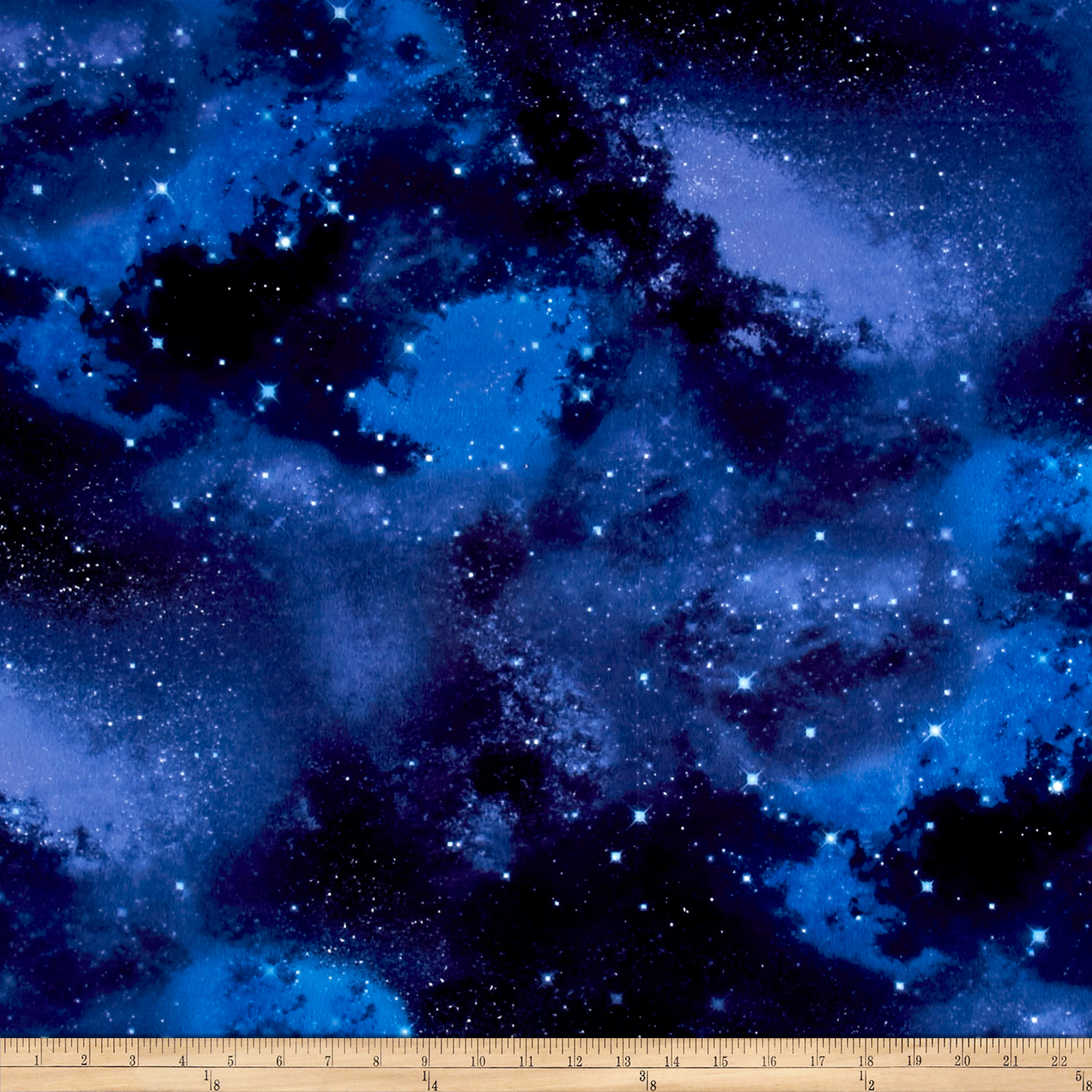Image of Timeless Treasures Flannel Galaxy Galaxy Fabric