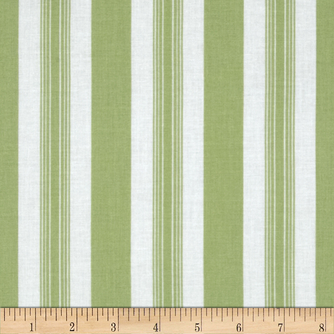 Tanya Whelan Sunshine Roses Stripe Green