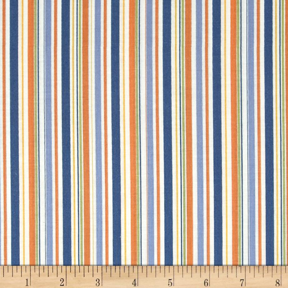 Riley Blake Pieces of Hope 2 Stripes Orange