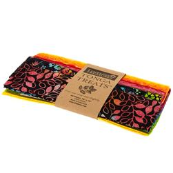 "Timeless Treasures Tonga Batik Treats Rainbow 10"" Squares"