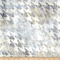 Artisan Batiks Textue Study 2 Houndstooth Large Pewter