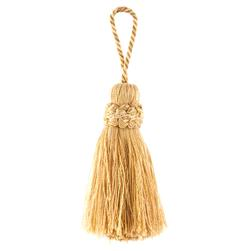 "Trend 4.5"" 01365 Cushion Tassel Gold"