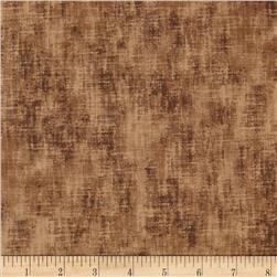 Timeless Treasures Jewel of the Garden Linen Texture Taupe