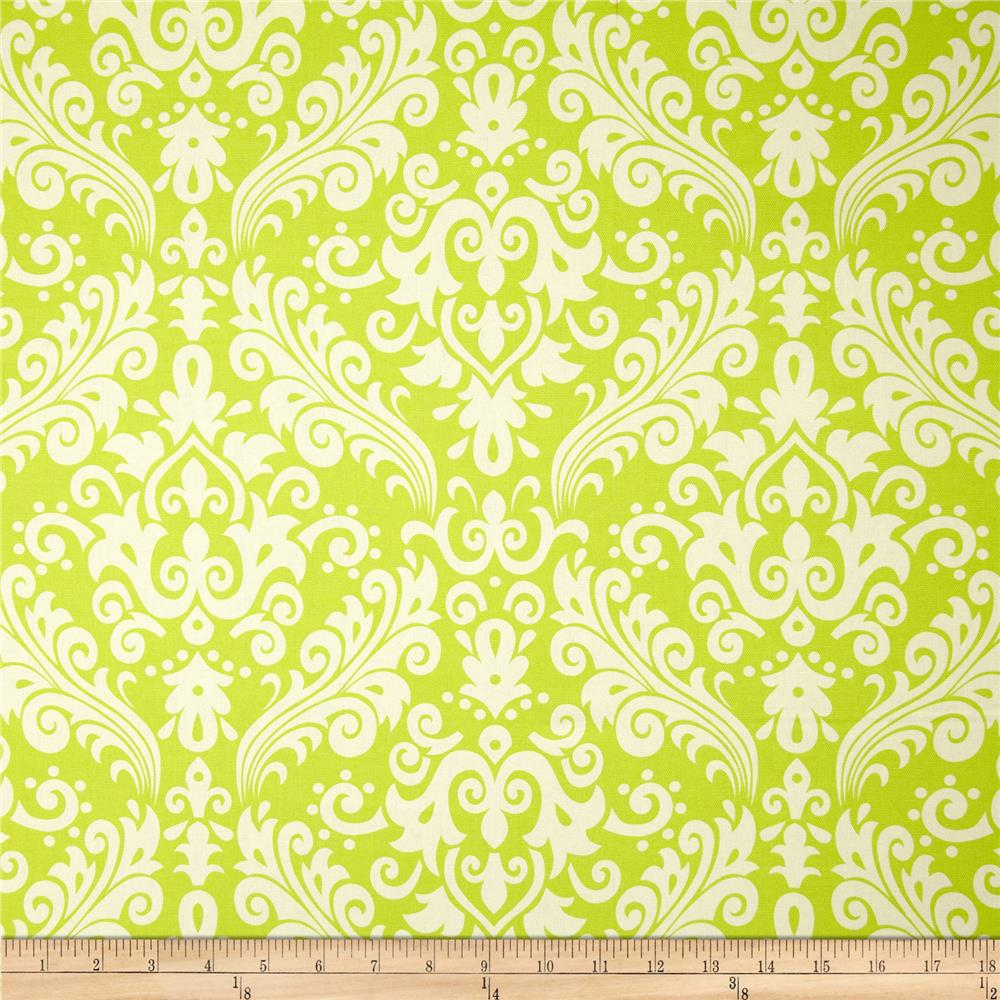 Riley Blake Home Décor Large Damask Lime