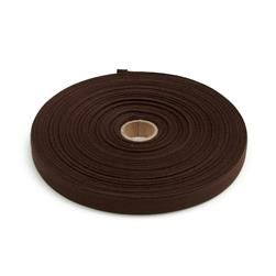 Cotton Twill Tape Roll 5/8'' Dark Brown