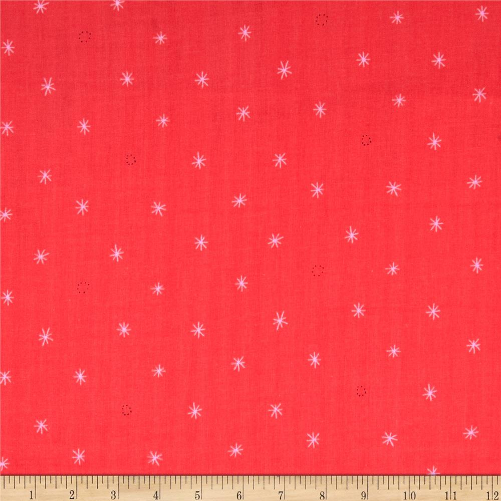 Cotton + Steel BeSpoke Cotton Double Gauze Spark Coral