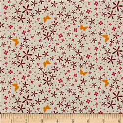 Michael Miller In Bloom Thrive Coral