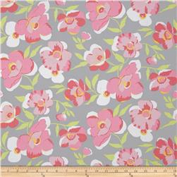 Fashion Plate Large Floral Grey