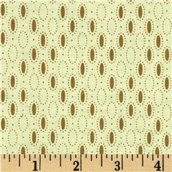 Prairie Home and Companions Oval Dots Cream/Taupe