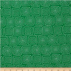 Michael Miller Stitch Square Emerald