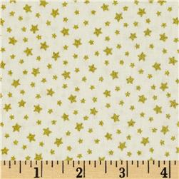 Christmas 2014 Metallic Coordinates Star Cream