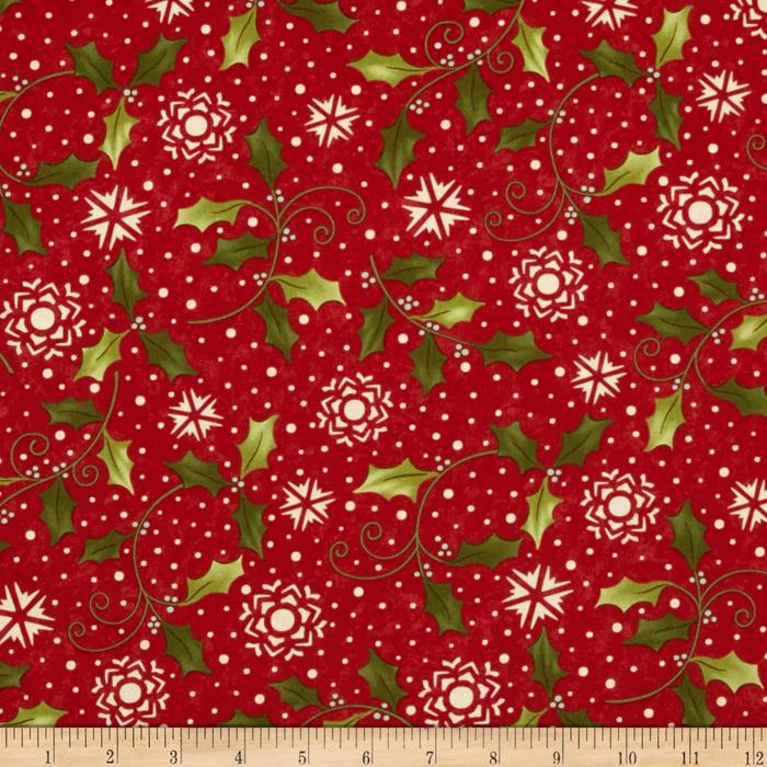 Moda Very Merry Holly Berry