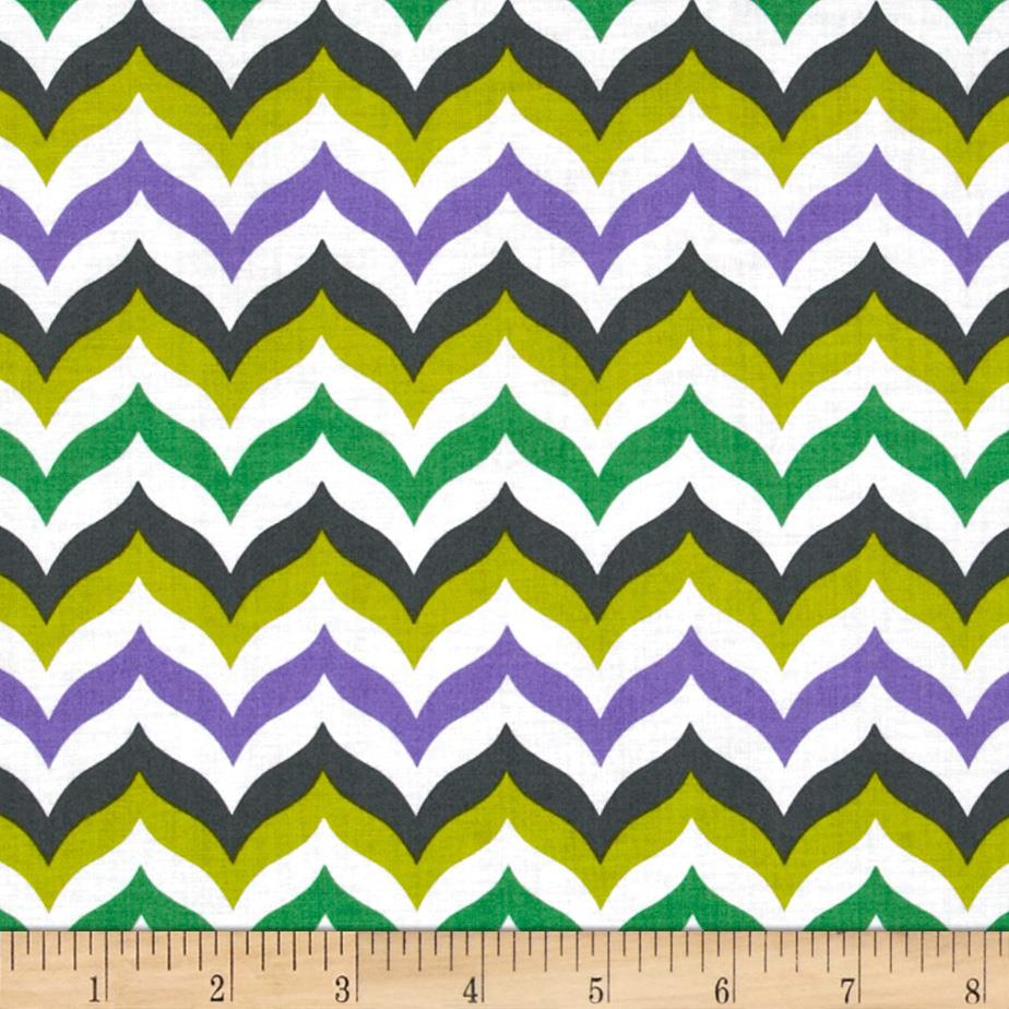 Let's Play Dolls Chevron Purple