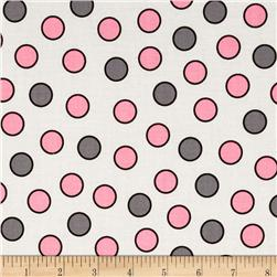 Bundle Of Jungle Dot Pink/Grey