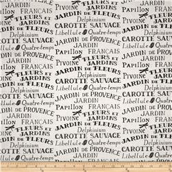 Jardin De Provence Words Multi