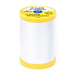 Coats & Clark General Purpose Cotton 225 yd. White