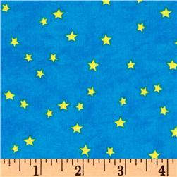 Sea Of Dreams Stars Light Blue/Gold