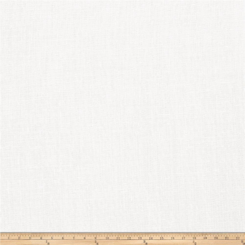 "Fabricut Lowlight 118"" Drapery Sheers Winter White"