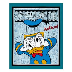 Disney Donald Duck Action 36 In. Panel Multi