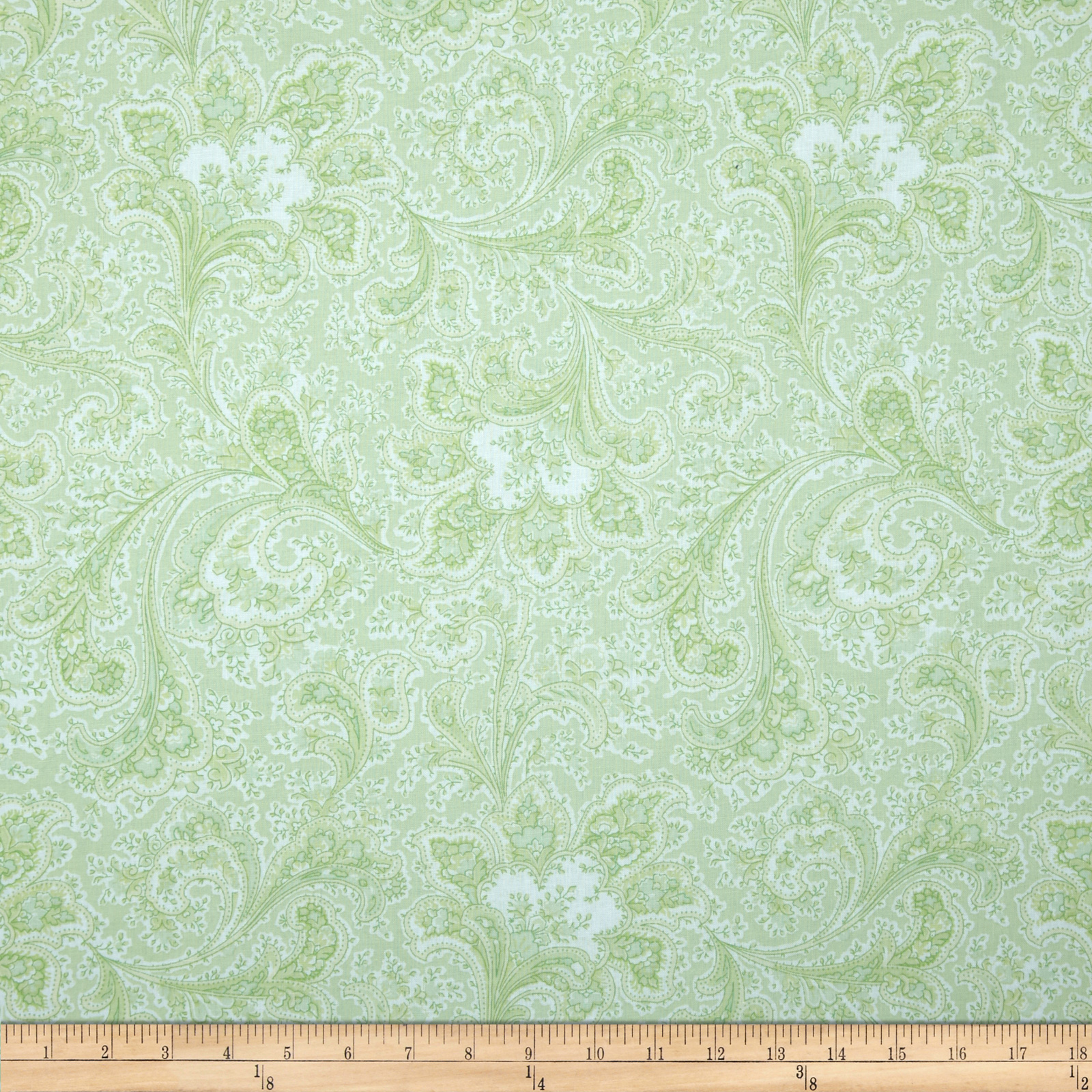 Image of 108'' Wide Quilt Back Rosemont Malabar Bamboo Fabric