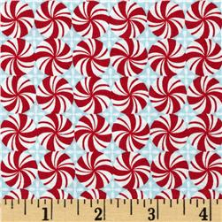 Sugar Rush Mint Swirls Red