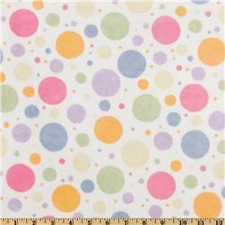 Minky Cuddle Bubble Dots Multi