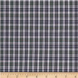 Tartan Plaid White/Navy/Green