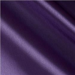 Stretch Satin Organza Purple