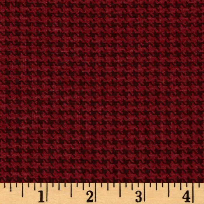 Designer Essentials Designer Houndstooth Barberry