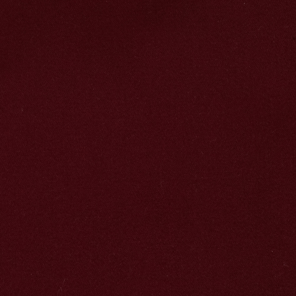 Cotton Lycra Sateen Wine Fabric
