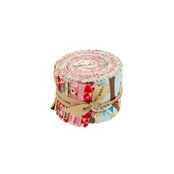 "Riley Blake Tree Party 2.5"" Rolie Polie"