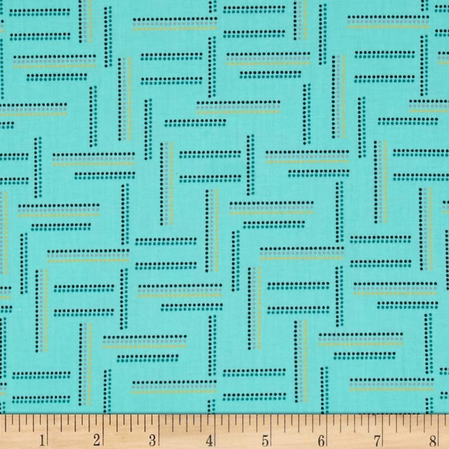 Rumble Dotted Stripe Mint