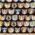 Kaufman Whiskers & Tails Dressy Kitty Black