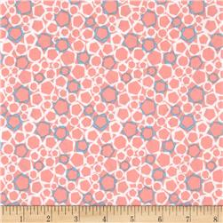 Graphix 3 Allover Hexagons Pink/Blue/White