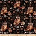 Night Owls Large Owls Black