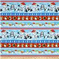 Penguin Parade Large Stripe Multi