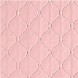 Quilted Vinyl Pink Fabric