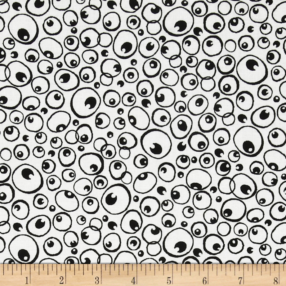 Nite Owls Owl Eyes Black/White