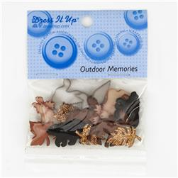 Dress It Up Embellishment Buttons  Outdoor Memories