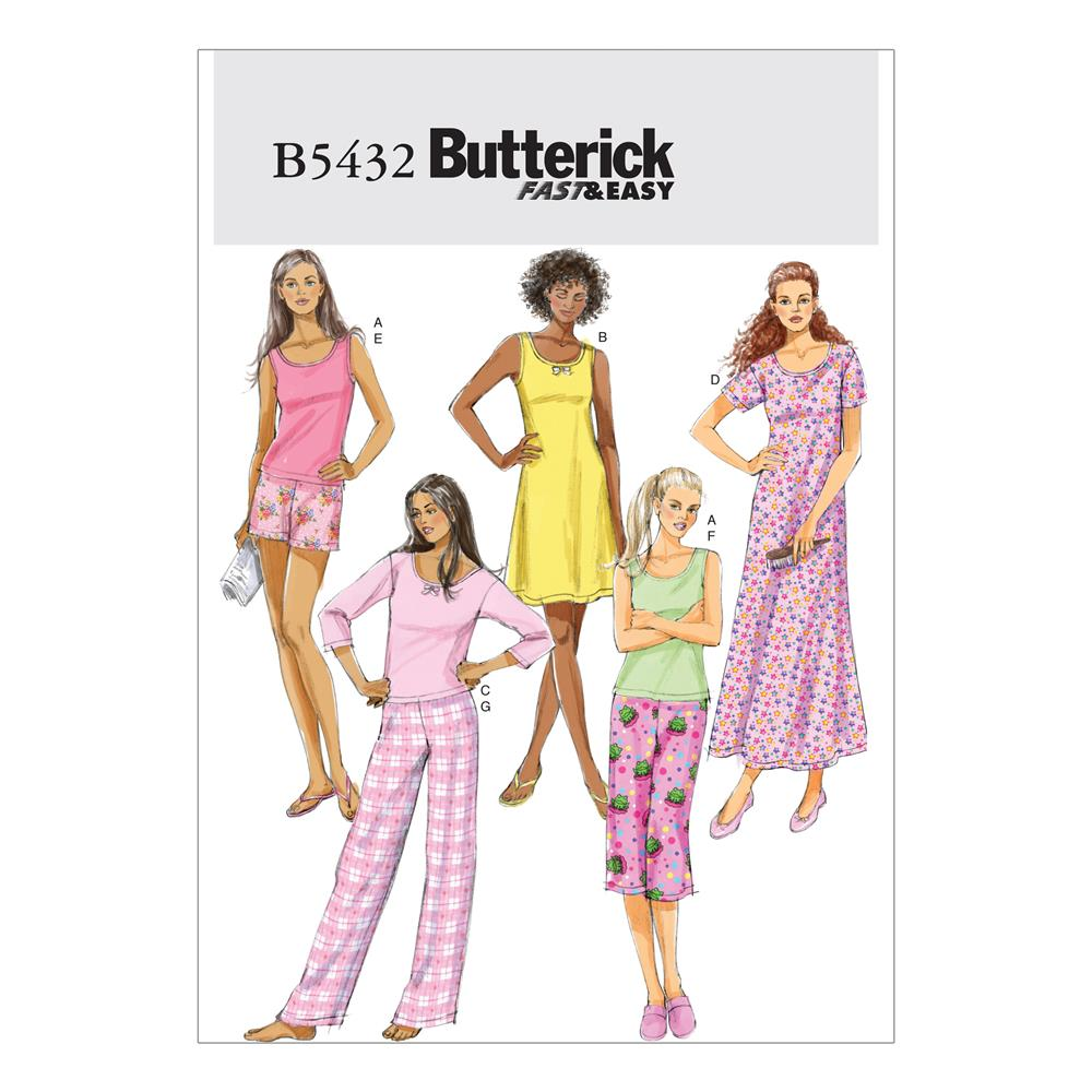 Butterick Misses'/Misses' Petite Top, Gown, Shorts and Pants